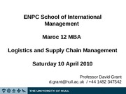 ENPC MBA Lecture Slides 2010 Day 6