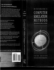 Harvey Gould, Jan Tobochnik, Wolfgang Christian An introduction to computer simulation methods- Appl