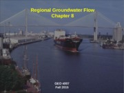 8_Regional Groundwater Flow (Chapter 8)