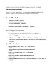 Honors Chemistry Module 5 Lesson 3 Guided Notes_katiemueller.doc
