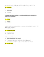 Unit 2 Exam-Underlined are incorrect