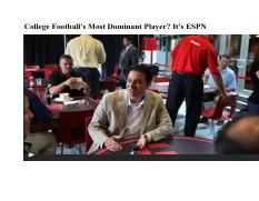 Colleges most dominant football player, it is ESPN, NYT 2013.pdf
