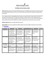 HIS 314 Midterm Short Paper Guidelines and Rubric