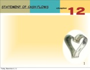 Chapter 12 Statement of Cash Flows