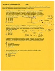 Quiz 4 with solution Fall 2014 chapter 8