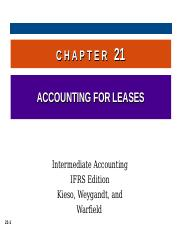 Chapter 21 Acc For Leases.ppt