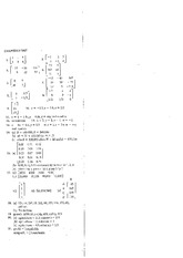 Solutions for Chapter Test - Matrices