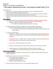 Chapter 7 outline lecture ANSWER KEY