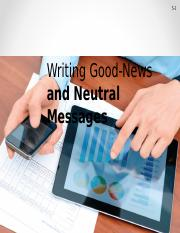Writing Good-News and Neutral Messages.ppt
