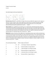 Chapter 5 Reading Notes Economics