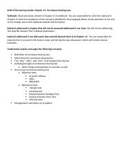 SLHS4704 Fall 2014 Ch13 LearningGuide.docx