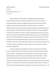 Other Essays On schism of 1054/ one full page /10th grade - world history - essay/research paper