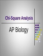 chi square ap biology essay