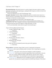 Class Notes_ Mechanisms of Evolution .pdf