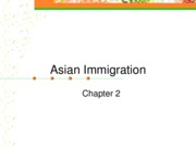 Asian Immigration.Outline for Blackboard.Chp2