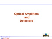 Optical Ampifier and Detector(03-03-2011)
