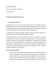 phar mor inc fraud View homework help - phar-mor from acc 772 at la salle case study phar-mor, inc: accounting fraud, litigation and auditor liability 1- some of the members of phar-mors financial management.