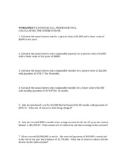 WORKSHEET 5, INTEREST RATES.doc