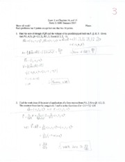 solution Exam1 Math11 Summer2014