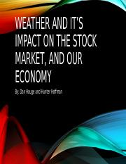 Weather and its impact on the economy.pptx