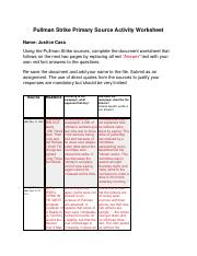 Pullman Strike Primary Source Activity Worksheet.pdf