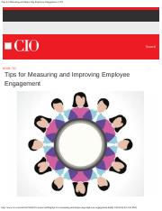 Tips for Measuring and Improving Employee Engagement _ CIO