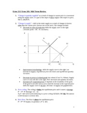 Econ 211 Mid Term Review 03-04