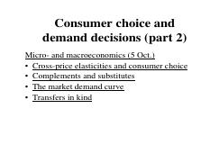 Micro- and macroeconomics - Consumer choice 2 and fiscal policy and foreign trade.pdf