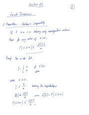 Lecture- Limit Theorems