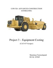 Project 3-Equipment Costing
