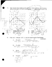 Graphing Functions Review Quiz