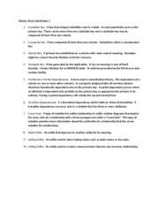 Review Terms Worksheet 3