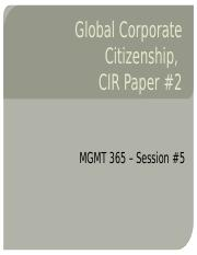 MGMT 365 Sess 5 - GCC and CIR #2 handouts.pptx