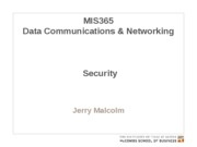 MIS365 8 - Security