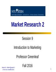 Session 9 - Market Research 2.ppt