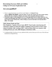 Are you qualified worksheet