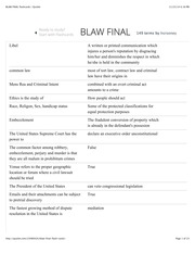 BLAW FINAL flashcards | Quizlet