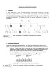 Mendelian Genetics Help - Study Documents, Flashcards and ...