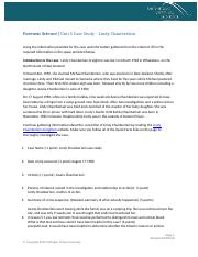 Unit 5 Case Study - Lindy Chamberlain.docx