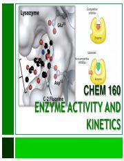 07_Enzyme Activity and Kinetics
