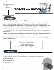 FORCE & MOTION-Science-Module.pdf