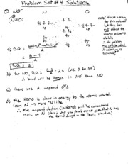 CHEM171 ProblemSet4Solutions