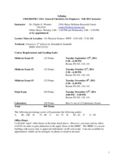 1414 Syllabus Fall 2011 FINAL