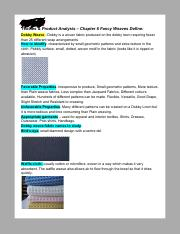 Textiles & Product Analysis – Chapter 6 Fancy Weaves Define_.pdf