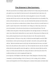 The Shipman's Tale Project.docx
