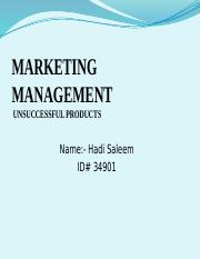 ITB PPT for Marketing Managment (1)