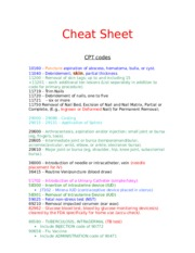 CODING CHEAT SHEET