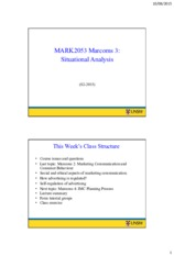 MARK2053 Week 3 (S2-2015) – 2 slides per page