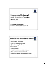 LEcture Notes on Monopoly Power, Price Discrimination and the Inverse Elasticity Rule