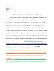 LDSP   Christopher Newport University   Course Hero Course Hero   pages Argument Essay In Class Edit docx